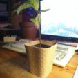 Free 3D print files honeycomb planter #1, unwohlpol