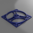 Download STL file 50mm Fan Cover • 3D printer template, Simba