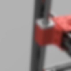 Free 3D file D-bot Linear Z bearing holder, Einarsen3d