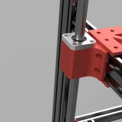 Descargar modelos 3D gratis D-bot Soporte de rodamiento lineal Z, Einarsen3d