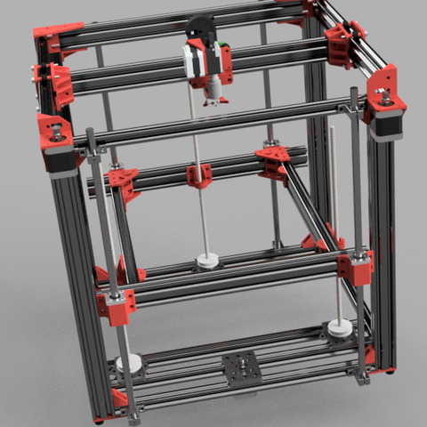 Free 3D printer designs My Custom D-bot, Einarsen3d