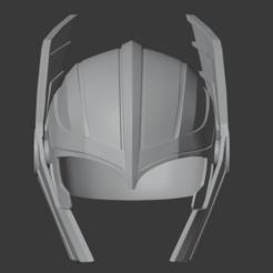 1.png Télécharger fichier STL Casque Thor de Thor 3 Ragnarok • Objet pour imprimante 3D, HaereticusProps