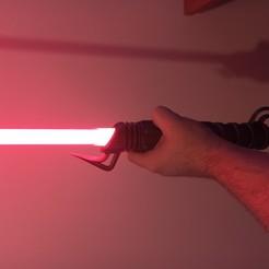 IMG_20200810_231132.jpg Télécharger fichier STL Sabre Laser Agressif (Lumière) • Modèle imprimable en 3D, LvnGodarm