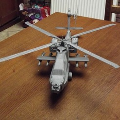 3d print files helicopter - copter - apache - US army, Trologic