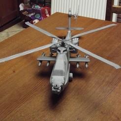 Imprimir en 3D helicóptero - helicóptero - helicóptero - apache - ejército de EE.UU., Trologic
