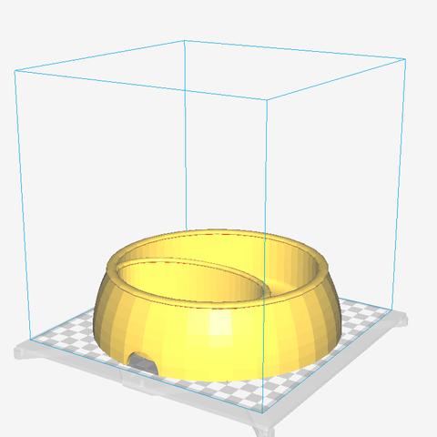Free 3D printer model Dig Dog Bowl, Trologic