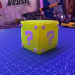 Download free STL file Nintendo Switch Storage Cube • 3D printer model, Jean-Donald