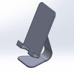 Descargar archivo 3D Soporte para Smartphone, nico84500