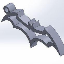 Imprimir en 3D gratis Llavero Batman, nico84500