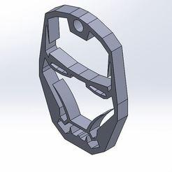 Descargar modelo 3D gratis Llavero hombre de hierro, nico84500