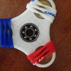 stl file fidget hand spinner, Jerome15