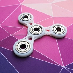 Free 3D print files Fidget spinner toy, Johnnyal