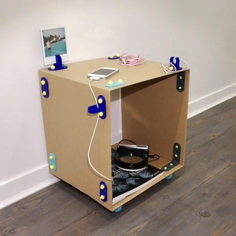 3D printer files Minimo, minimalist modular furniture, clemgerm