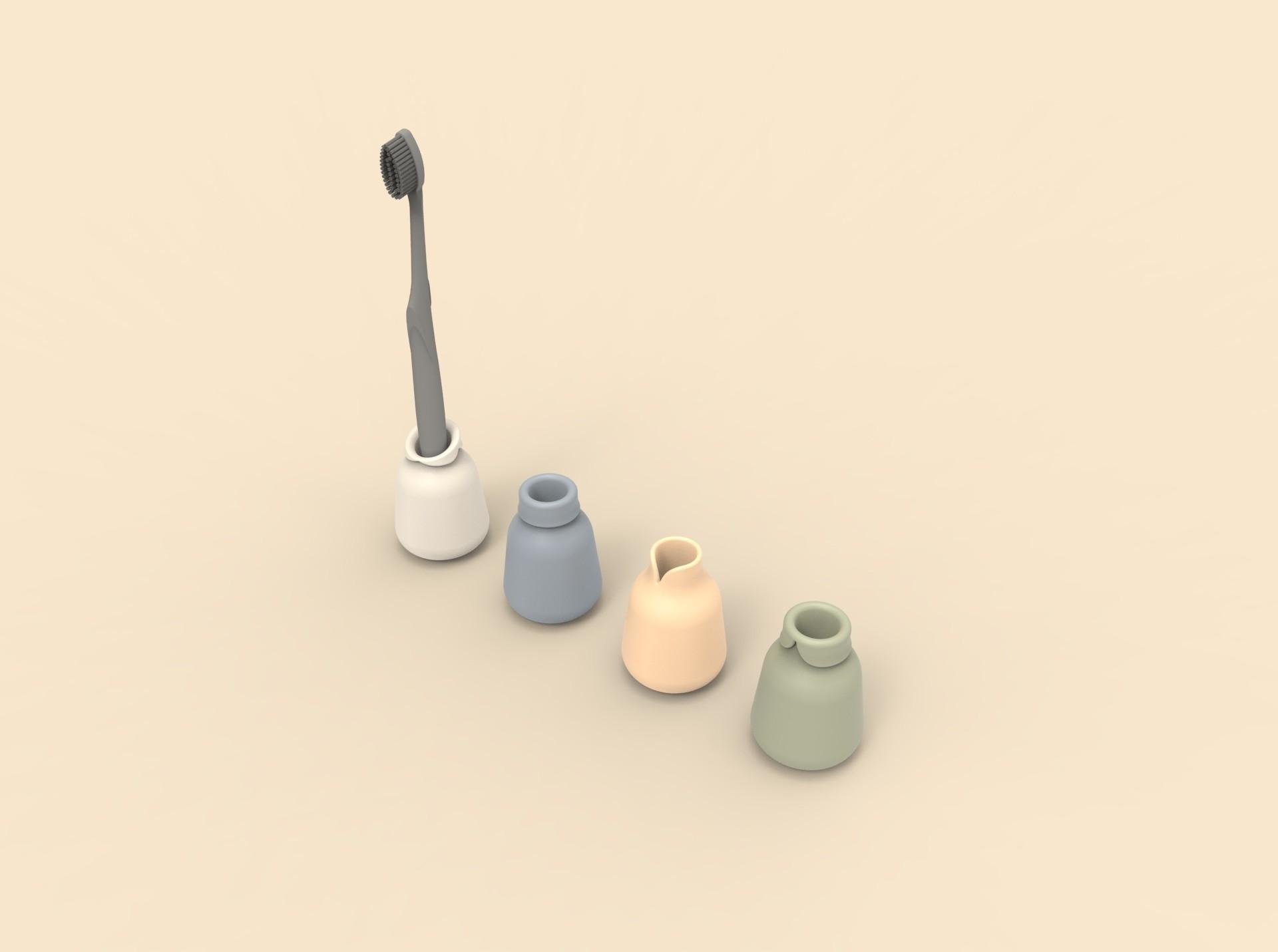 cols.389.jpg Télécharger fichier STL gratuit Portes brosse à dents personnalisables Famille • Plan à imprimer en 3D, clemgerm