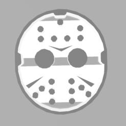jason 1.PNG Download STL file JASON CUTTING MASK • 3D print design, Lmyvgta
