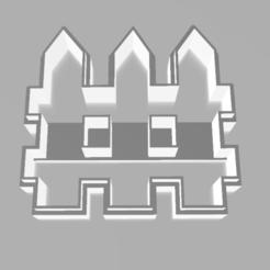 CERCO 1.PNG Download STL file WOODEN FENCE • 3D print design, Lmyvgta