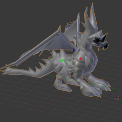 Download free STL file Zaiross of Summoners War • 3D printable model, Tarditar