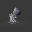 Imprimir en 3D gratis Yoshi baja poli, Tarditar