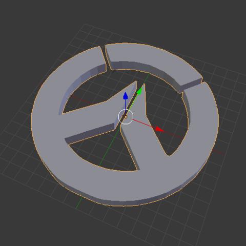 Download free STL file Overwatch LOGO • Model to 3D print, Tarditar