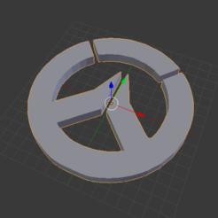Free 3D printer files Overwatch LOGO, Tarditar