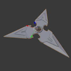 Download free STL file Genji's Shuriken overwatch • 3D printer template, Tarditar