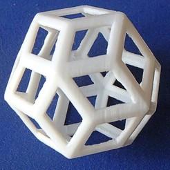 Plan 3D gratuit polyèdres, brico18