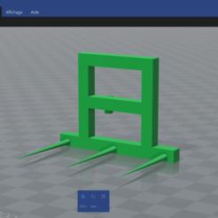Descargar modelo 3D gratis pico de arranque Merlo, notre_agriculture_en_miniature