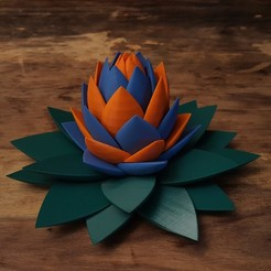 20191213_121033.jpg Download STL file Flower Inspired Puzzle • 3D printing design, Job