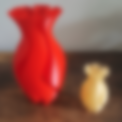 Download free 3D printing designs Experimental Vase, Job