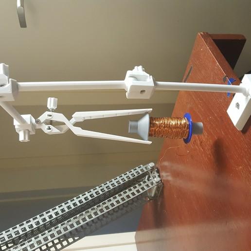 20190815_163639.jpg Download STL file Universal Arm • 3D printable template, Job