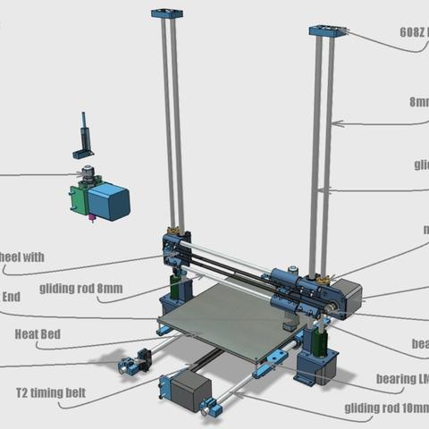 Capture d'écran 2018-02-01 à 10.28.47.png Download free STL file Portable 3D Printer • 3D printable design, Job