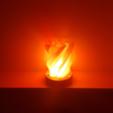 Télécharger STL gratuit Lampe Pentagram, Job