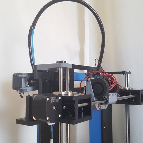 Descargar diseños 3D gratis Anet A6 Hot-End /Xcar Mod 2019, Job