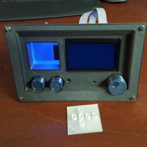 Free 3d printer files Full Graphic Smart Controller Panel, Job