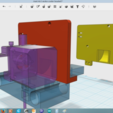 Free 3D printer designs Anet A6 Extruder motor cooler, Job