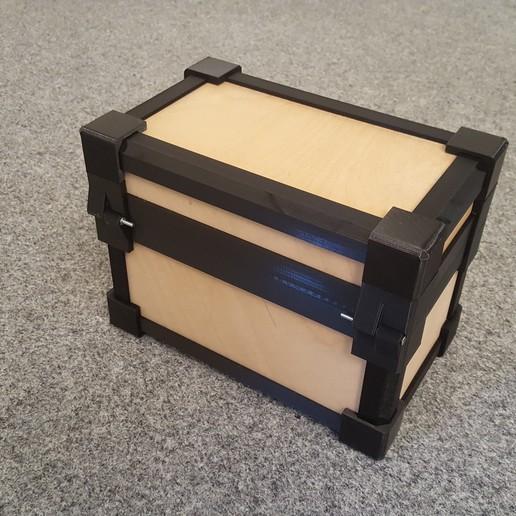 20190818_164141.jpg Download STL file LazyMans Box • Model to 3D print, Job