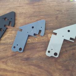 Free 3D printer designs Anet A6 Left upper bracket for higher Z axis, Job