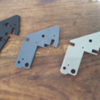 Download free STL Anet A6 Left upper bracket for higher Z axis, Job