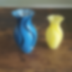 Free 3d printer designs Experimental Vase 2, Job