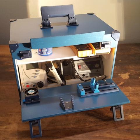 Capture d'écran 2018-03-21 à 11.13.44.png Download free STL file PCB Vise – Soldering Station • 3D printing model, Job