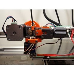 Download free 3D printer designs Geared Extruder 2, Job