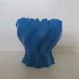 Capture d'écran 2017-06-13 à 09.58.44.png Download free STL file Twisted Hexagon Colum pot/vase 2 • 3D printer model, Job