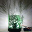 Download free 3D printing designs Bearing Mechanism Lamp, Job