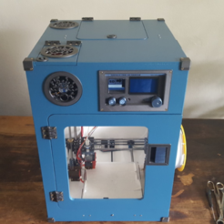 Download free 3D printing files Portable 3D Printer, Job