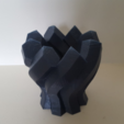 Free 3D printer designs  Twisted Hexagon Colum pot/vase, Job