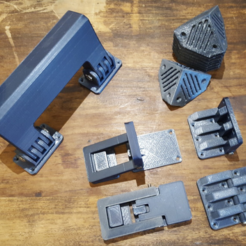 Free STL DIY SUITCASE PARTS, Job