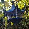 Download 3D printer designs Air Temple Bird Feeder, Job