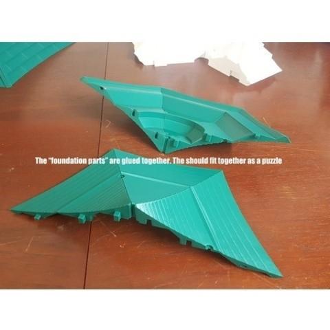 Download free 3D print files The Light Sky Bird Temple ・ La