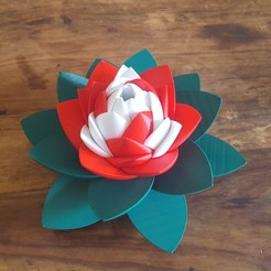 Download STL file Flower Puzzle • 3D print design, Job