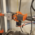 Free 3D file Geared Extruder using M8 extruder driver, Job